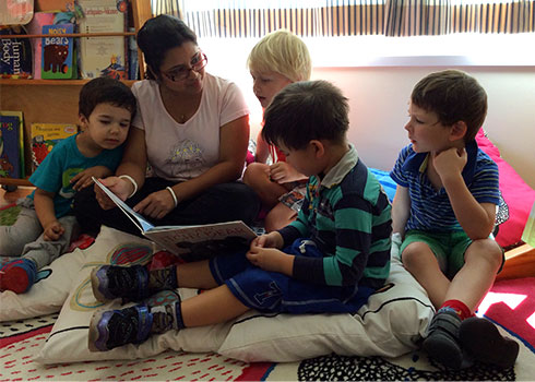 Happy and nurturing and learning environments